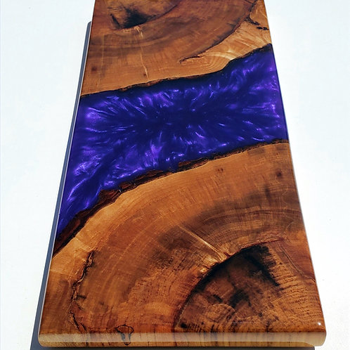 Purple Mica & Spalted Maple Board