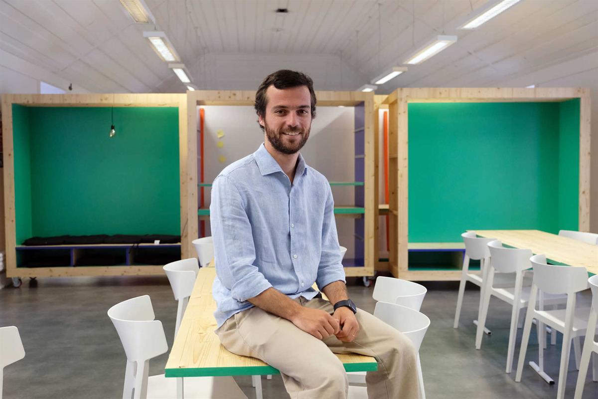 Duarte Fonseca é um dos fundadores da startup que nasceu em 2015 para ajudar a população prisional. Foto Diana Quintela / Global Imagens