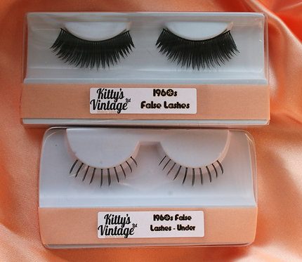 1960s False Eyelashes - Full Set