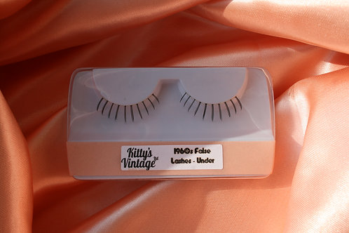 1960s False Eyelashes - Under
