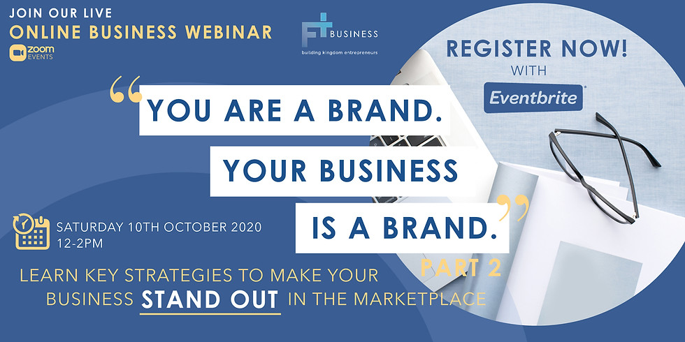 FT Business Webinar - Make Your Business Stand Out in the Market Place