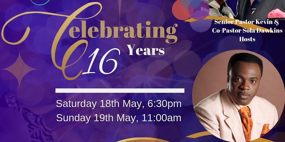 Faith Tabernacle 16th Anniversary Celebration