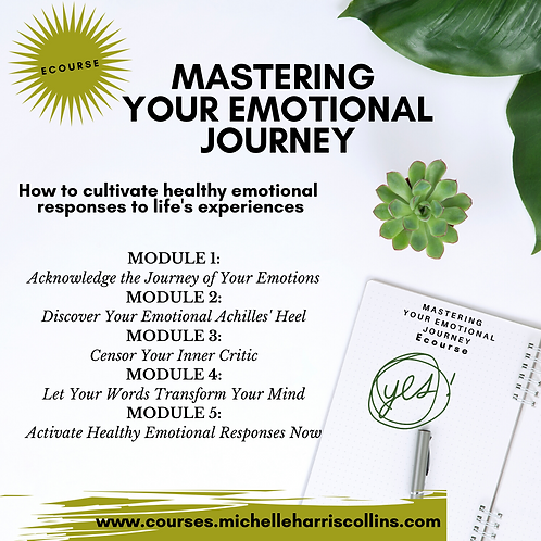 Mastering Your Emotional Journey E-Course