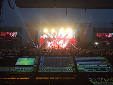 Lighting Director Trackside Music Festival 2016