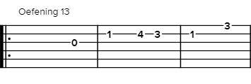 gitaar-tabs-oefening-13
