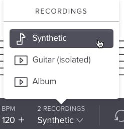 Synthetisch afspelen