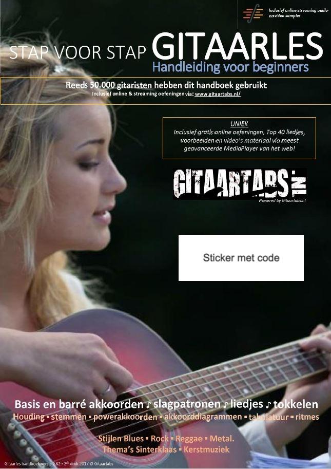 Stap voor Stap gitaarlesboek