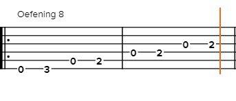 gitaar-tabs-spelen-oefening-8