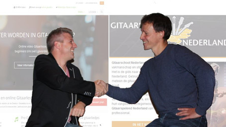 Samenwerking Gitaarschool Nederland & Gitaartabs