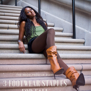 3 FOOTWEAR STAPLES FOR FALL!