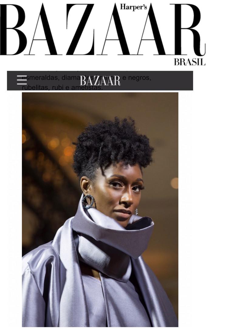 Cole Woods featured in Harper's Bazaar Brasil