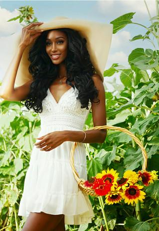 Black Girl in a Sunflower Field: Inspiration for Black Girls Everywhere