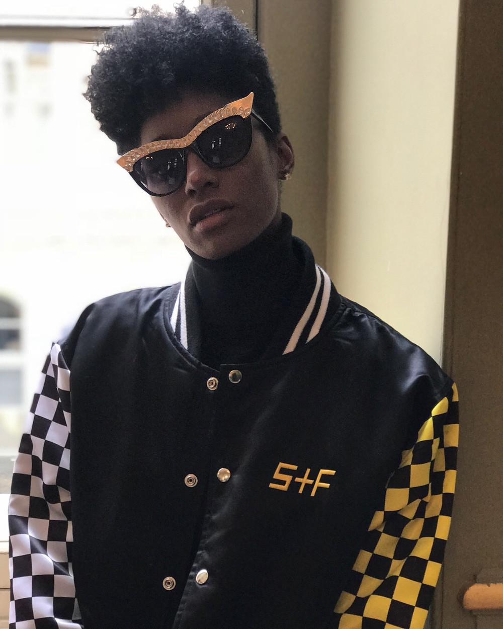 Black Female Andy Warhol in Paris