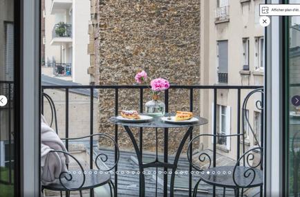 lodging- balcony
