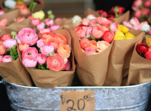 Ranunculus Pop-up at Wild Love