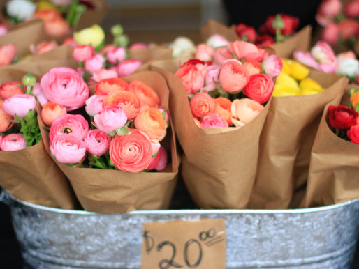 Ranunculus Pop-up at Wild Love