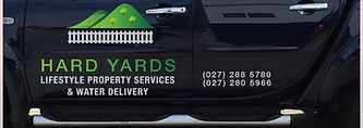 Hardyardsnelson potable water delivery, fertiliser, spraying, mowing, lifestyle block services