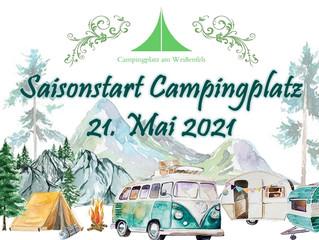Saisonstart Campingplatz - die Regeln im Überblick - Update