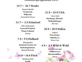 Sommer Programm 2015