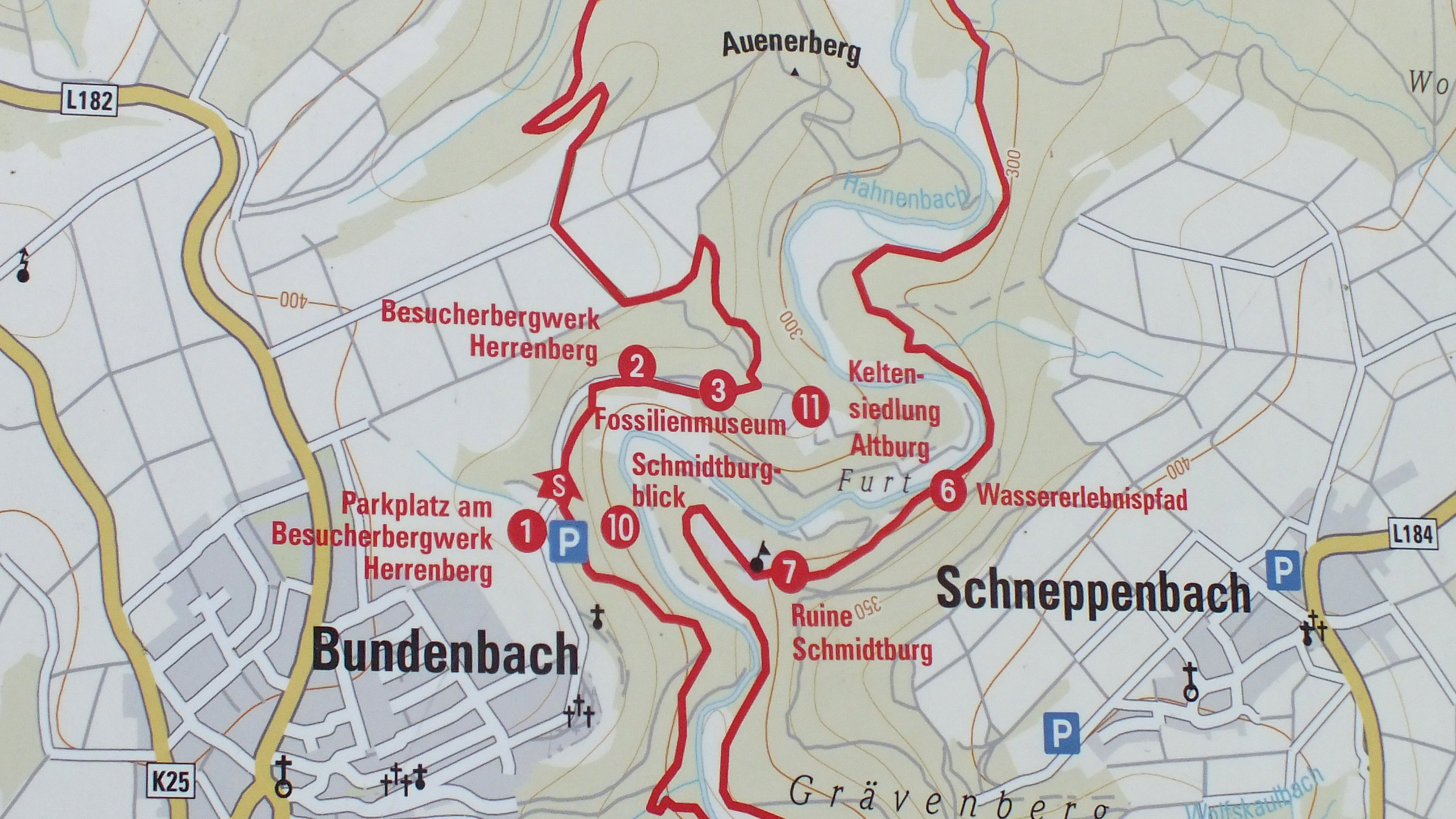 Strecke Hahnenbachtour