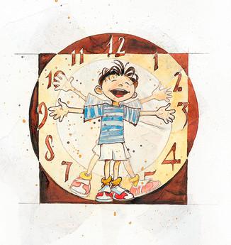 L'orologio azzurro - Mario Lodi - Edizioni la meridiana (2008)