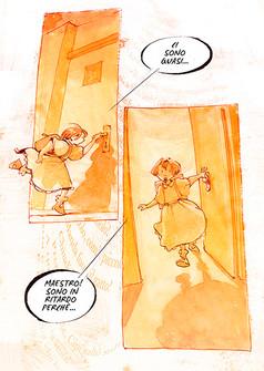Graphic novel su Mario Lodi, BeccoGiallo (2015)