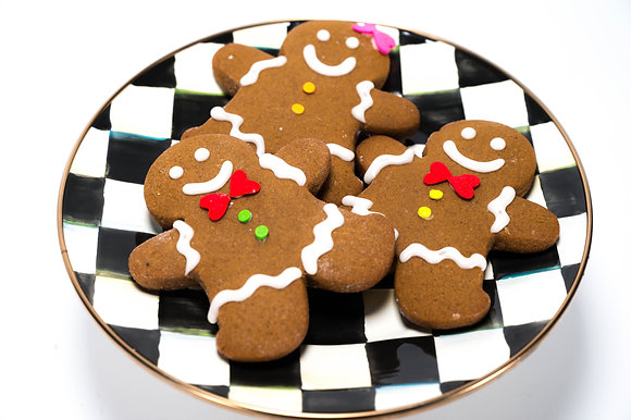 Gingerbread Cookies - 1 Dozen