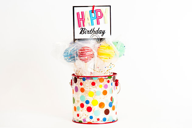 Happy Birthday Bucket