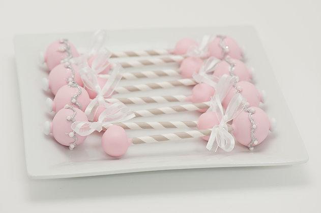 Baby Rattle Cake Pops - 1 dozen