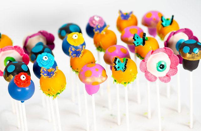 Enchanted Forest Cake Pops - 1/2 dozen in gift box