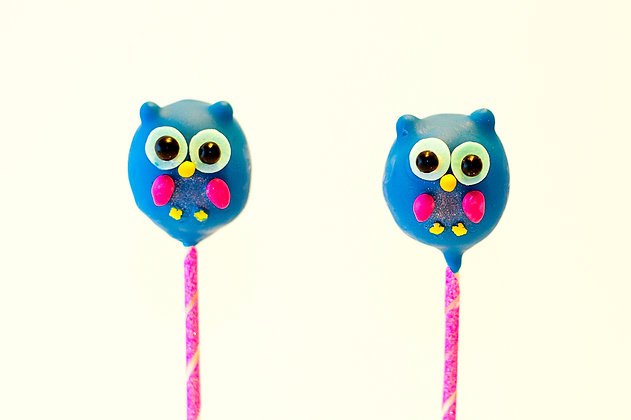Owls Custom Cake Pops - 1 dozen