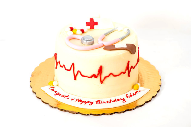Nurse Appreciation Cake