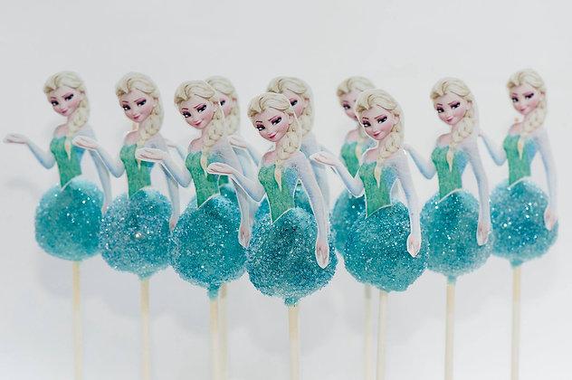 Elsa Cake Pops - 1 dozen
