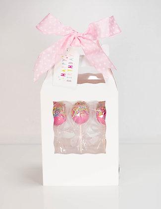 Cake Pop Gift Box (Set of 6)