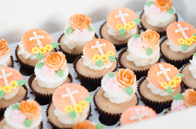 Baptism/First Communion Cupcakes