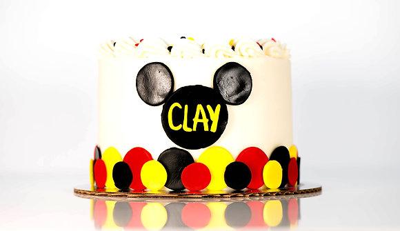 Mickey Inspired Cake