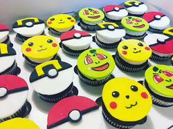 My edible image printer gave out on me, so I had to create these #pokemoncupcaketoppers last minute!