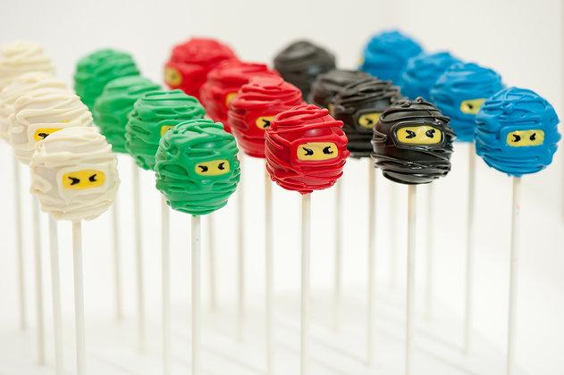 Ninjago Custom Cake Pops - 1 dozen
