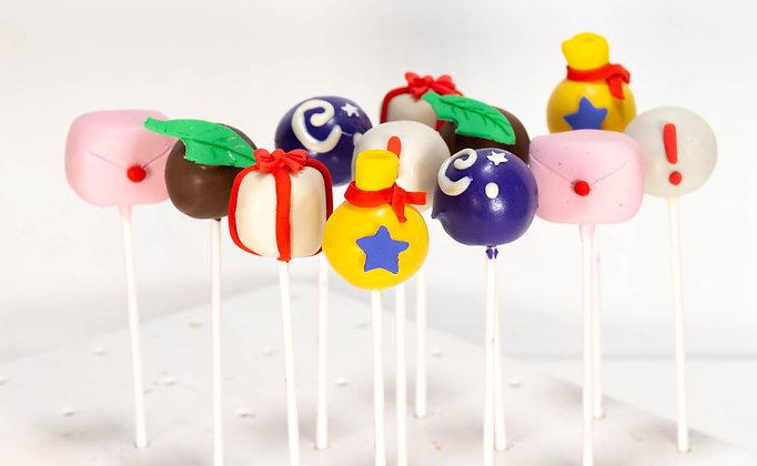 Animal Crossing Cake Pops - 1 dozen