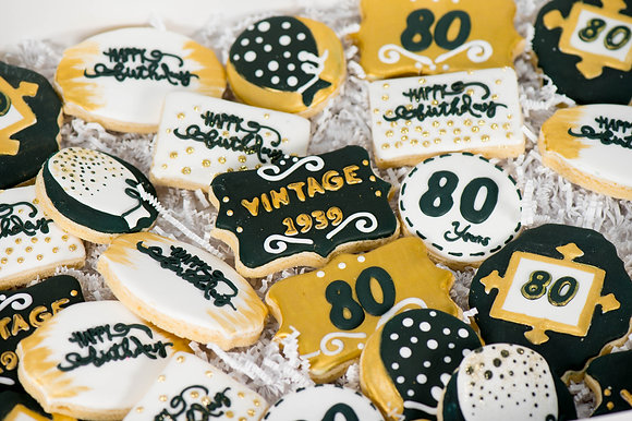 Birthday Celebration Cookies - 1 dozen