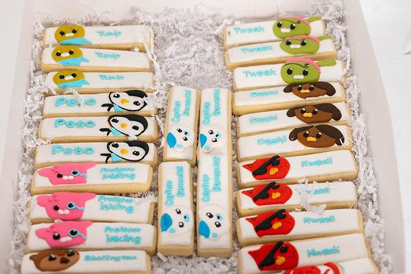 Octonauts Inspired Cookies - 1 dozen