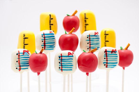 Teacher Appreciation Cake Pops - 1 dozen