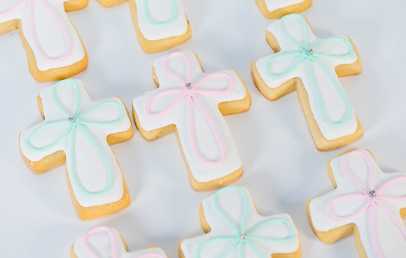 Baptism/First Communion Cookies - 1 dozen