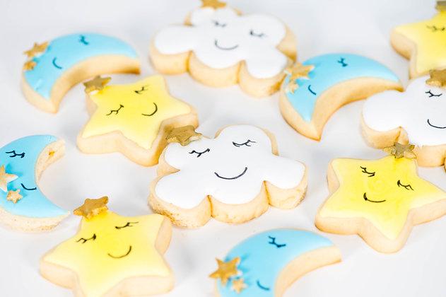 Twinkle Twinkle Little Star Cookies - 1 dozen