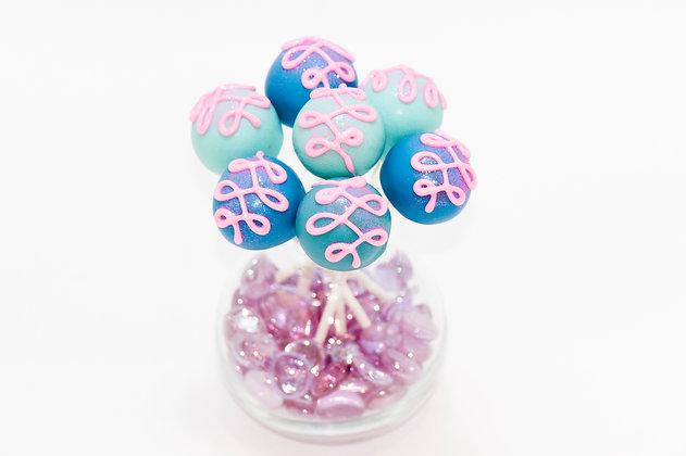 Scrumpoptious swirly pops - 1 dozen