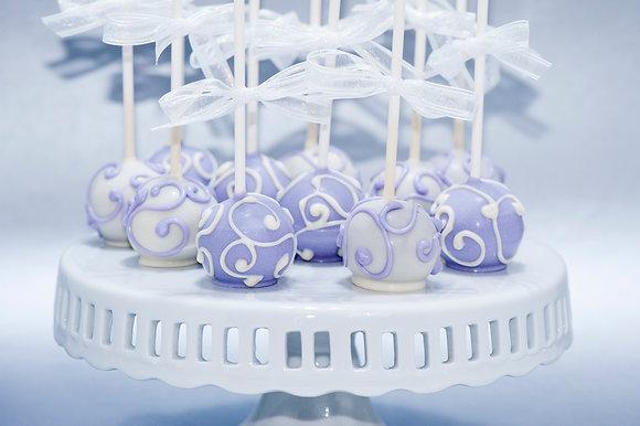 Whimsical Swirl Cake Pops - 1 dozen