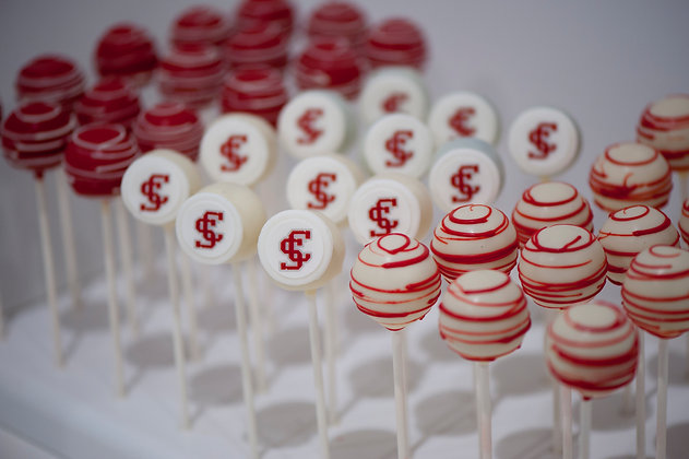 Custom Logo Cake Pops - 1 dozen