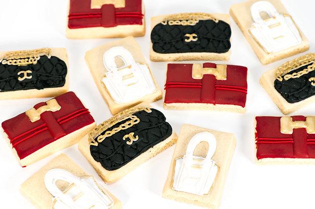 Couture Handbag Cookies - 1 dozen