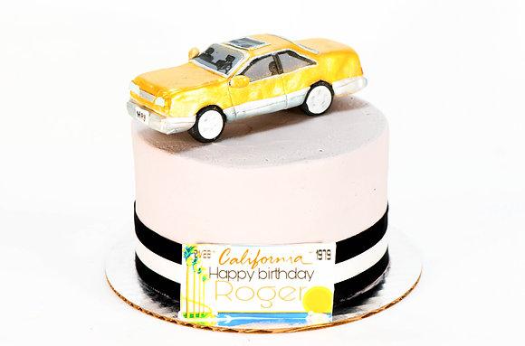 Model Car Cake
