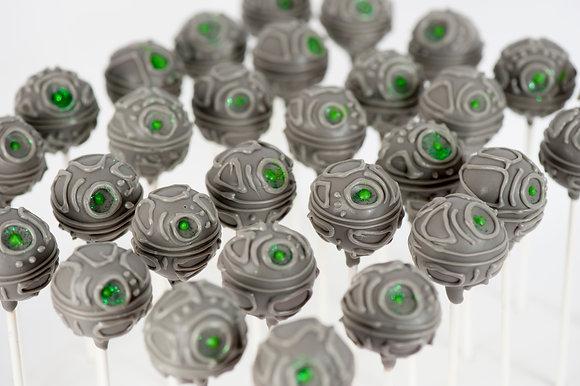 Death Star Cake Pops - 1 Dozen